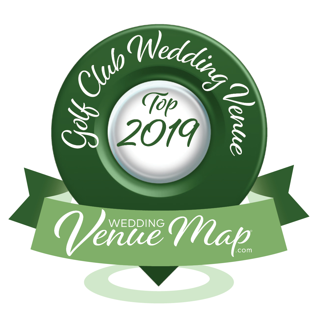2019 Top Golf Club Wedding Venue Award